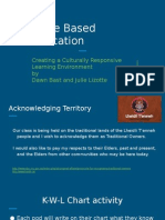 place based education  creating culturally responsive classrooms