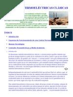 Centrales Termoeléctricas Clásicas