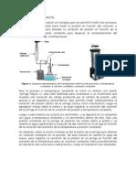 Descripción Experimental Gases Ideales