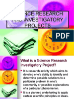 Guidelines to Investigatory Project