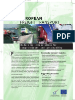 EUROPEAN FREIGHT TRANSPORT