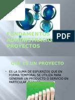 fundamentos de administración de proyectos