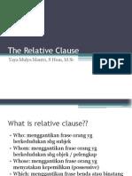 Materi English 3 - The Relative Clause.pdf