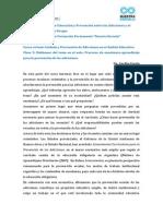 Prevencion Material de Lectura - Clase 9 - Hablemos Del Tema en El Aula. Procesos de Enseñanza-Aprendizaje Para La Prevencion de Adicciones