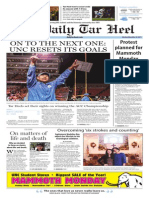 The Daily Tar Heel for Nov. 30, 2015