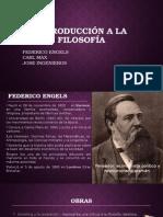 F. Engels, Karl Max