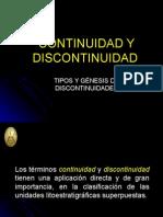 CONTINUIDAD DISCONTINUIDAD