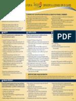 BMV Documentation List