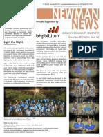 Newman News December 2015 Edition
