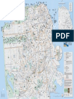 SF Bike Map and Walking Guide 2014