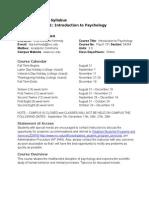 psychology 101 fall 2015 course syllabus practicum 1