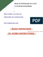 Acero estructural