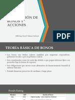 Valoracion de Bonos y Acciones Ucv