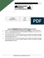 Microsoft Word - Practice Test-01 - 4 Year Program