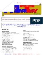 Myanmarthway Volume 1 Issue 3