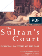 Alain Grosrichard Sultans Court European Fantasies of the East 1979
