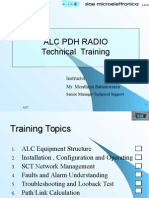 ALC PDH RADIO Technical TrainingSiae Microwave