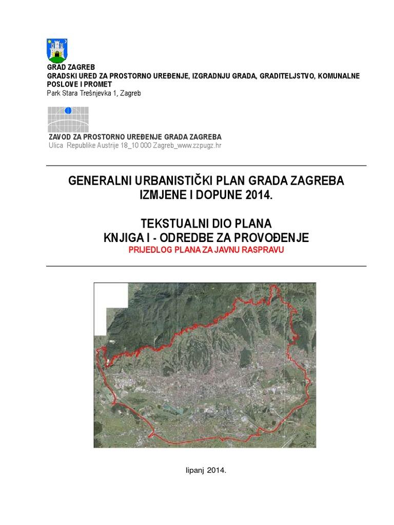 Gup Zg Prijedlog Plana Za Javnu Raspravu 2014