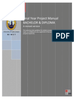 Manual FYP 2011 Version1.0