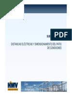 5.4 Distancias Eléctricas y Dimensionamiento de Patio de Llaves