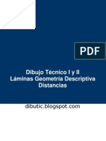 Geometría Descriptiva - Distancias