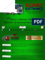 Refuse Collection Vehicle Parts from Alliance Electronics Ltd 2018