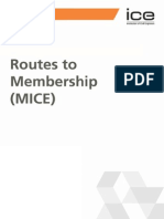 ICE 3001A Routes to Membership