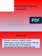 Paket Penyuluhan Kanker Ovarium