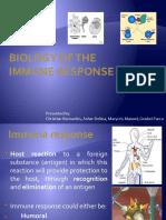 Biology of Immune Response