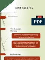 TB Paru Aktif Pada HIV