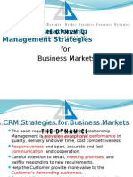 CRM Strategies for B2B Markets