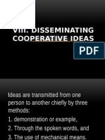 Cooperative Ideas