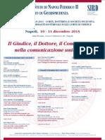 Il Giudice, il Dottore, il Comparatista nella comunicazione universale