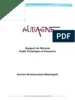 Audit Du Service Restauration Municipale Aubagne