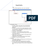 Visual FoxPro Lecture 1