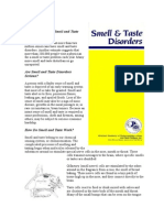 How Common Are Smell and Taste Disorders