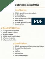 Agenda Formation Microsoft
