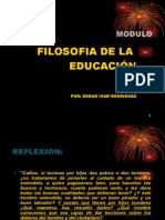 Diapositivas Filosofia de La Educación 1