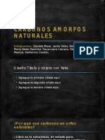 CARBONOS AMORFOS NATURALES.
