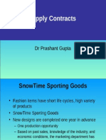 Supply Contracts