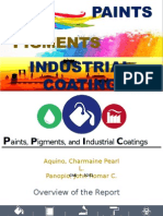 Paints, Pigments, And Industrial Coatings