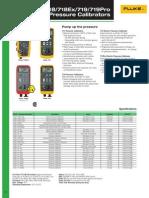 Fluke Pressure Calibrator
