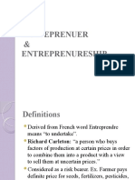 Entrepreneurship PPT