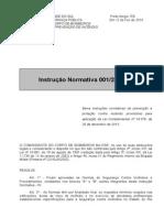 Instrução Normativa 001-2014 - CBMRS - 12-02-14