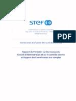 14 10 2013 Rapport Du President Sur Les Procedures de Controle Interne Et Rapport Des Commissaires Aux Comptes