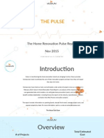 Home Renovation Pulse Report