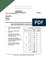 Trial Pahang 2015 Kimia k2