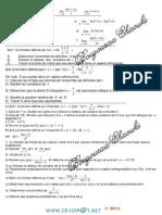 Série d'Exercices -Math Fonction Ln -BacToutes Sections (2013-2014)Mr Bouzouraa Chaouki