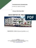 Descriptif Villa Penelope