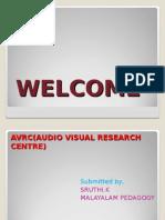 AVRC(AUDIO VISUAL RESEARCH CENTRE)